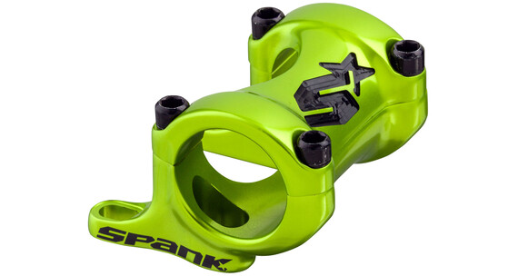 Spank Spike Vorbau Direct Mount Ø31,8mm 25-30mm emerald grün